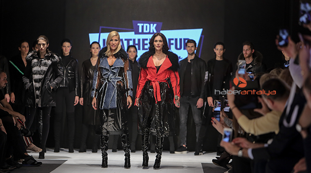 Antalya'da 'Deri ve Kürk Moda Fuarı'