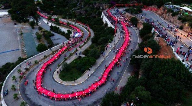 Antalya'da Gençlik Bayramı coşkusu