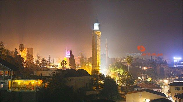 Antalya'da hava kirliliği 'hassas' seviyede