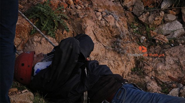 Antalya'da intihar girişimi (İnanılmaz kurtuluş)