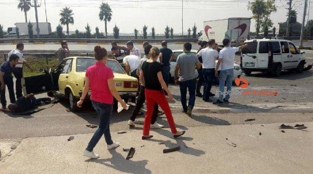 Antalya'da kaza: Çok sayıda yaralı