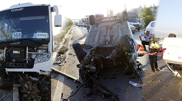 Antalya'da ortalık savaş alanına döndü: 1 ölü