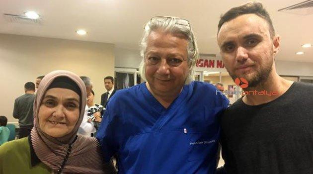 Antalya'da sağlığına kavuştu