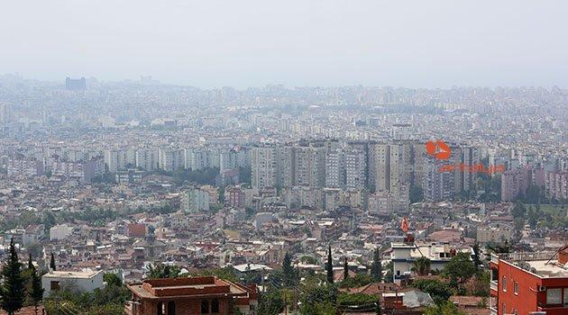 Antalya'da yüksek nem bunaltı