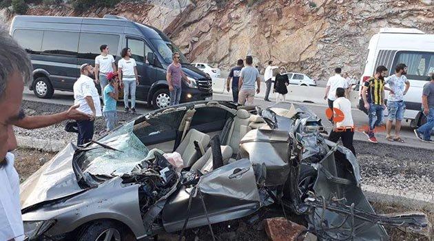 Antalya'daki kazada ölen 3 mühendis ve bebeğin cenazeleri alındı