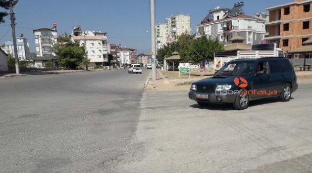 Antalyalılar o 'ölüm yolu'na çözüm istiyor!