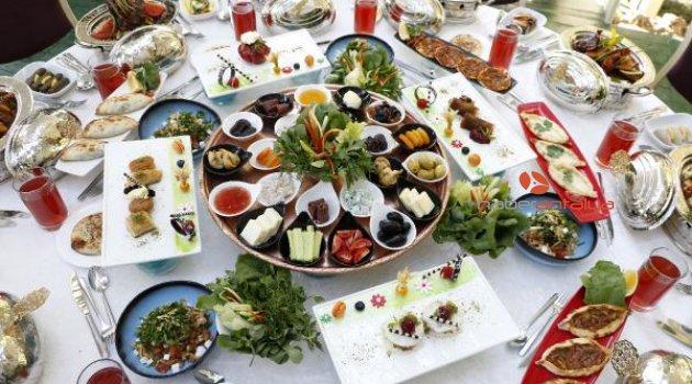 Antalya'nın 200 yıllık yemekleri, Ramazan menüsünde