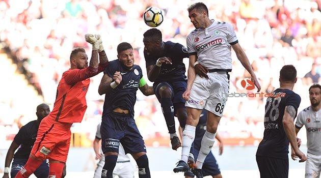 Antalyaspor - Atiker Konyaspor: 0-0