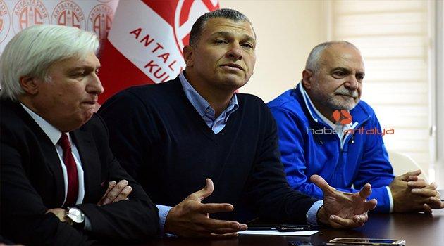 'ANTALYASPOR BASKETBOL TAKIMI'NA SAHİP ÇIKALIM' ÇAĞRISI