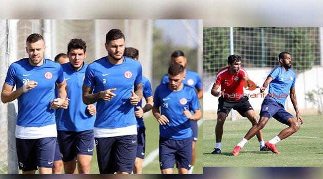 Antalyaspor'da derbi hazırlığı