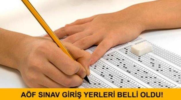 AÖF üç ders sınavı sınav giriş belgeleri açıklandı.. AÖF üç ders sınavı ne zaman yapılacak?