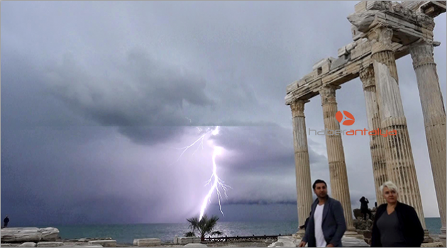 Apollon Tapınağı'nda görsel şölen