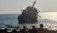Araştırma gemisi karaya oturdu