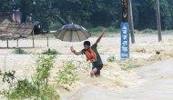 Asya kıtasındaki selde 245 kişi hayatını kaybetti