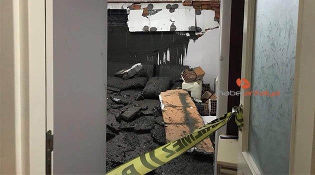 Baba-oğul, kendi evlerinde çimentoya gömüldü!