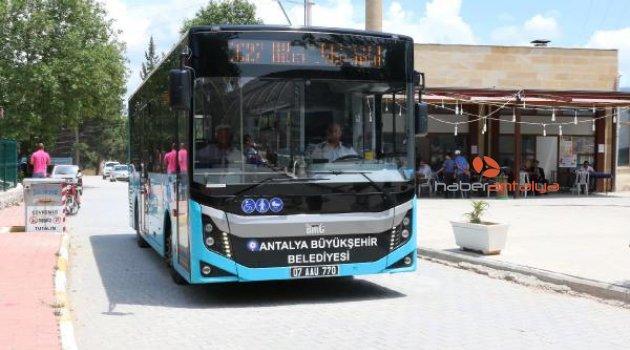 Bademağacı ve Dağbeli'ne toplu taşıma