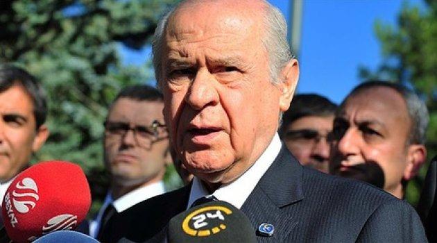 Bahçeli: Kılıçdaroğlu'nun yürürken düşünmesini tavsiye ederim