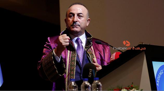 Bakan Çavuşoğlu'na fahri doktora unvanı