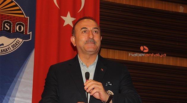 Bakan Çavuşoğlu'ndan uyarı