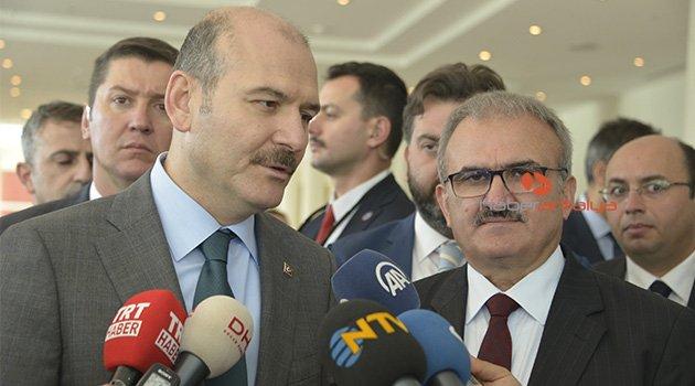 Bakan Soylu'dan CHP'li Tezcan'a tepki: 'Şeytan dili' derler buna, hesabı sorulur