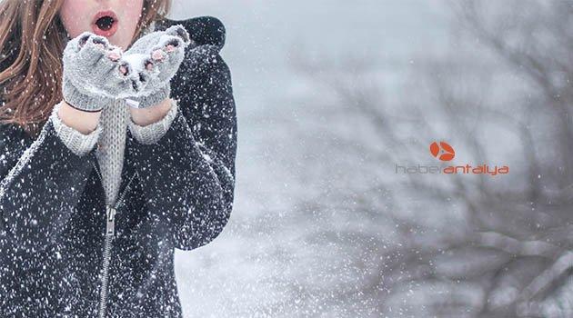 Batı Akdeniz için soğuk uyarısı | Antalya hava durumu
