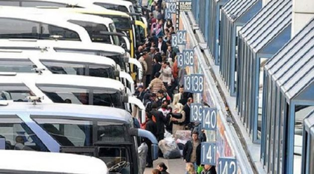 Bayram yoğunluğuna karşı otobüs takviyesi