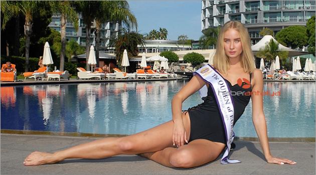 Bikini güzeli Lakymenko'nun tatil tercihi Antalya