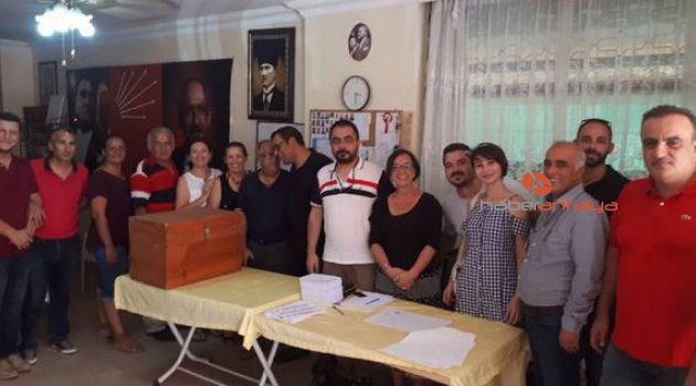 CHP'de delege seçimi