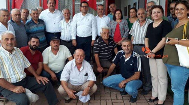 CHP'liler Gündoğmuş'ta buluştu