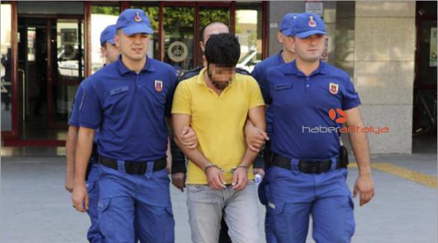 Cinayet şüphelisi Manavgat'ta yakalandı