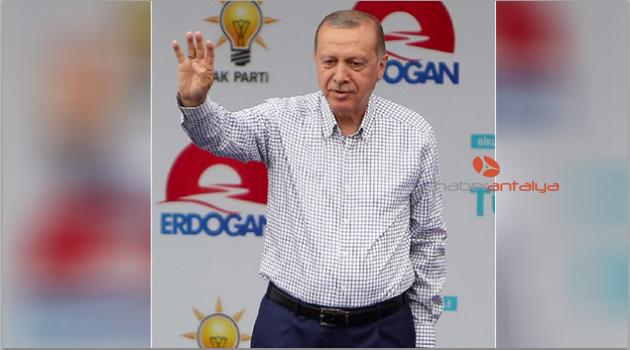 Cumhurbaşkanı Erdoğan Isparta'ya geliyor