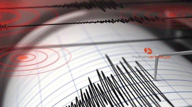 Depremin etkisi sabah ortaya çıktı
