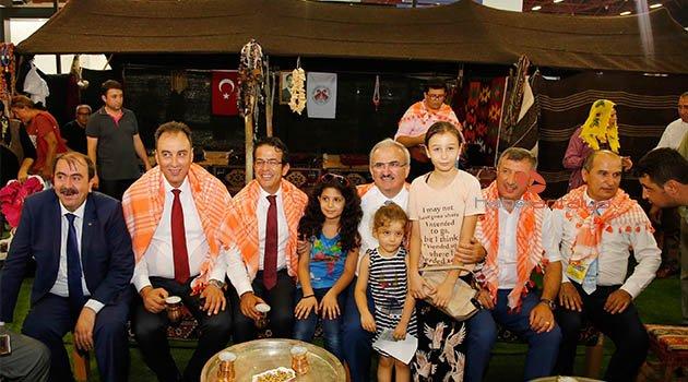 Döşemaltı Belediyesi YÖREX'de Yörük kültürünü tanıtıyor