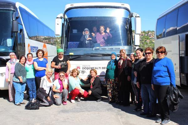DÖŞEMEALTI BELEDİYESİ'NDEN KADINLARA 'MEVLANA' GEZİSİ