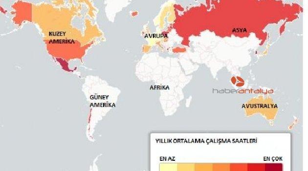 'Dünyada en çok Meksikalılar çalışıyor'