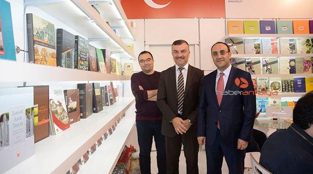 Dünyanın en büyük kitap fuarında, Türkiye'yi temsil eden tek belediye