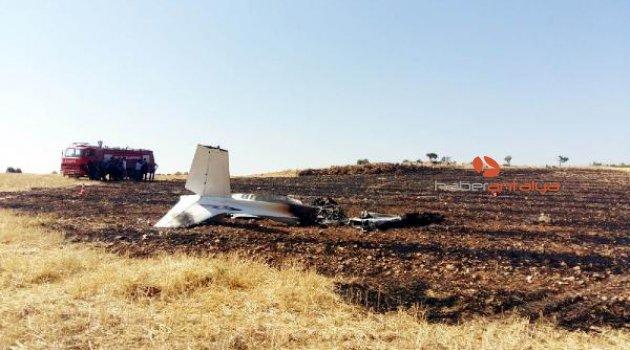 Eğitim uçağı düştü, pilot hayatını kaybetti