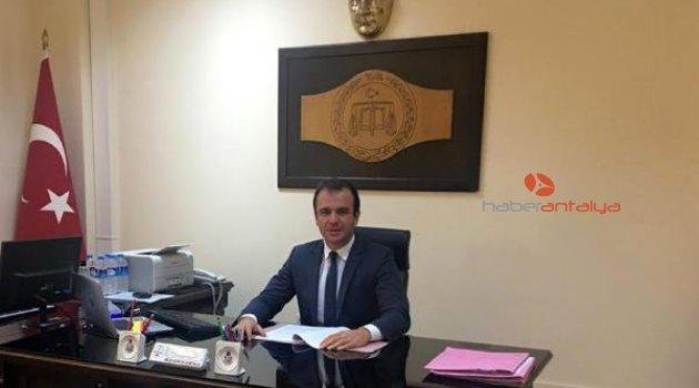 Eski savcı Manavgat'ta avukatlığa başladı