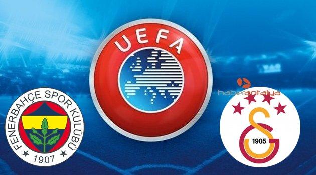 GALATASARAY ve FENERBAHÇE'NİN UEFA AVRUPA LİGİ RAKİPLERİ ...