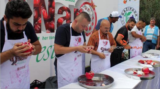 Gazipaşa'da Çekirdeksiz Nar Festivali
