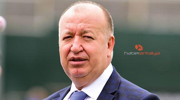 Gencer: Antalyaspor'un zor günler geçirmesi üzüntü verici