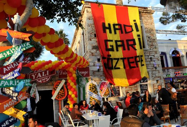 Göztepe Başkanı Sepil Bodrum'da Kafeterya Açtı