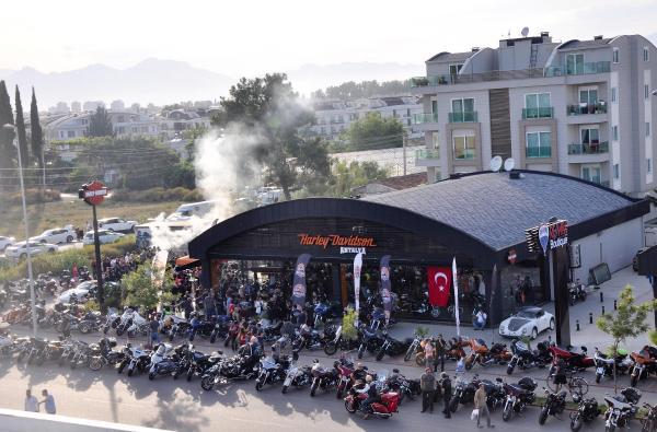 HARLEY DAVİDSON ANTALYA RALLİSİ BAŞLADI