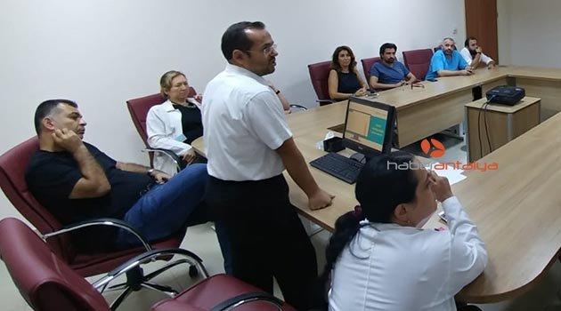 Hastane personeline e- nabız eğitimi