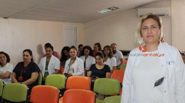 Hastanede SEPSİS bilgilendirme semineri