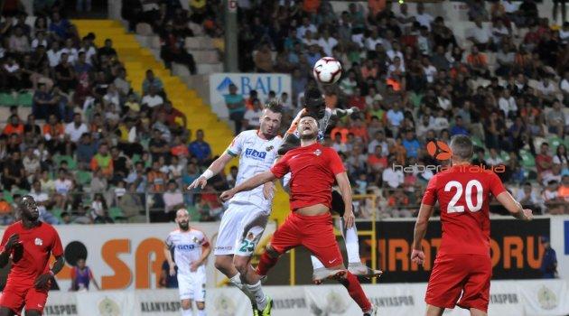 Hazırlık maçı: Aytemiz Alanyaspor: 1 - Antalyaspor: 1
