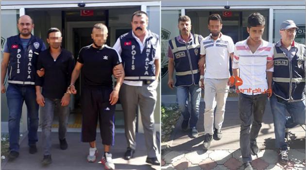 Hırsızlar, Mobese'den takip edilip yakalandı