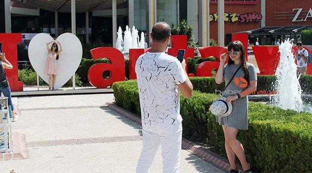 'I Love Antalya' platformu, fotoğraf stüdyosu oldu