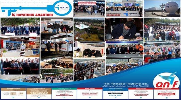 İstihdamın kalbi Antalya İstihdam Fuarı'nda atacak