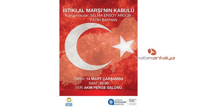 İstiklal Marşı'nın Kabulünü Mehmet Akif Ersoy'un torunu anlatacak